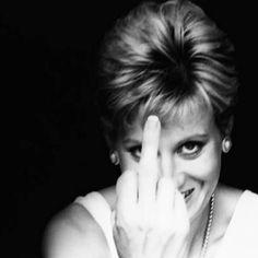 Diana - my kind of classy :)