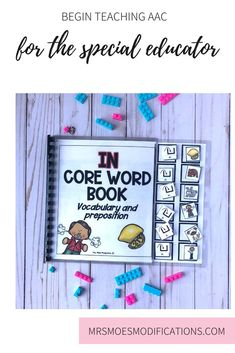 Not sure where to start with core vocabulary? Click here to read simple ideas with getting started with it in your classroom!