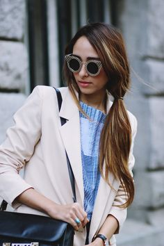 Preppy Fashionist: WOMENS TRENDY INDIE HIPSTER FASHION ROUND CAT EYE CRISS CROSS SUNGLASSES 9315