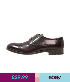 Base London Carter Leather Derby Brogue Shoes