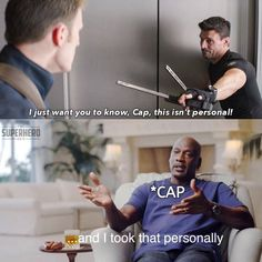 It kind of feels personal. - marvelmemes Superhero Memes, Avengers Memes, Marvel Memes, Love You All, Take That, My Love, Star Wars Jokes, Meme Template, Marvel Funny