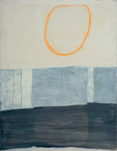 William Scott, Untitled, 1961, Oil on canvas, 112 × 86.2 cm / 44 × 34 in, Private collection