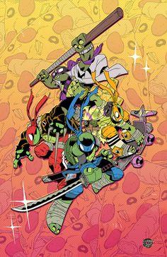 Teenage Mutant Ninja Turtles by Corey Lewis