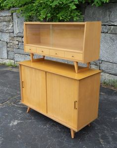 Mid Century Modern Credenza and Hutch in Back Bay, 229 Berkeley St #410, Boston, MA 02116, USA ~ Krrb