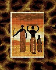 1096 Afrika 1. 24x30 cm - kattintson a képre a bezáráshoz