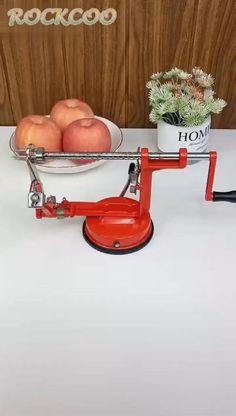 Home Kitchen Creative Stainless Steel 3 in 1 Apple Fruit Peeler Kitchen Tools, Kitchen Gadgets, Chicken Stuffing Casserole, Convertible Furniture, Pallet Patio Furniture, Apple Fruit, Peeling Potatoes, Cool Inventions, Balconies