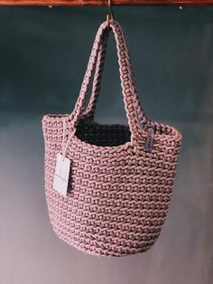 Discover thousands of images about Scandinavian Style Crochet Tote Bag Handmade Knitted Handbag Crochet Tote, Crochet Handbags, Crochet Purses, Scandinavian Style, Tenerife, Crochet Shoulder Bags, Smart Casual Outfit, Tote Bags Handmade, Fabric Bags