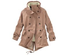 Perfect fall coat from Timberland!! // Women's Earthkeeper's Fleece-Lined 2-in-1 Parka