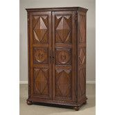 Found it at Wayfair - Entertainment Center Maybe this would fit in the corner of living room??