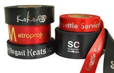 custom branded gift ribbon for corporate companies Gift Ribbon, Branded Gifts, Gift Packaging, Gift Bow, Gift Wrapping, Wrapping Gifts
