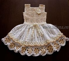 Crochet dress. PDF Pattern . No 85 por Illiana en Etsy