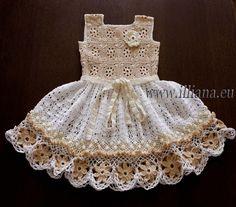 Crochet dress. PDF Pattern . No 85