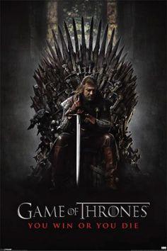 Game of Thrones - Win or Die Juliste