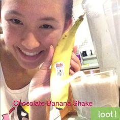 Using our app, take a picture showing the world how you use your Dole Bananas to earn a cash reward. Do you use them in a shake, on cereal or baked into muffins? http://earn.loot-app.com/#contest/Demb4LrRVS