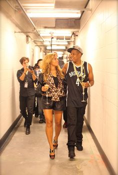 Brides.com: Crazy in Love: Our Favorite Personal Photos of Beyoncé and Jay Z. These two are never without a proper Champagne supply — even when they're on tour.