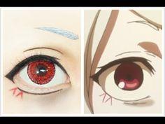 Cosplay Makeup 22 Trendy Eye Anime Makeup Make Up Women's Fashion Clothing Introduction Anime Eye Makeup, Anime Cosplay Makeup, Eye Makeup Art, Cute Makeup, Makeup Tips, Anime Make-up, Anime Eyes, Cosplay Makeup Tutorial, Cosplay Diy
