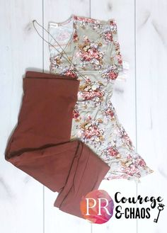 Paisley Raye Pixie and Tulip - Marsala and Taupe. So beautiful together!