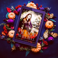I just realized that I teased with a cover reveal but never actually showed the cover of my upcoming Halloween novella #TheBloodWillTell so here it is. . Let me know what you think.. . Release date October 25th. . #thelaramieharperchronicles #vampirenovella #vampirehalloween #cabernetcavalry #thecabernetcavalryridesagain #jckeoughauthor