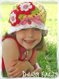 Crochet Daisy Crazy Hat