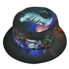 Galaxy Death Star Bucket Hat. HoodieGalaxy · Star Wars Hats · Yoda Snapback  ... 002db1322312
