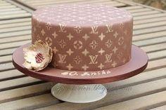 Louis Vuitton cake - Cake by Brigittes Torten