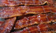 My guests ALWAYS ask for my candied bacon!  http://www.texansunited.com/blog/2012/03/13/delicious-candied-bacon-2