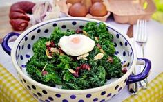 Stir Fry Kale - A light, superfood-based lunch to repair muscles and complement your training diet