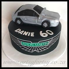 Aston Martin Cake #astonmartincake Motorbike Cake, Cupcake Cakes, Cupcakes, Cakes For Boys, Aston Martin, Truck, Ford, Cheese, Motorcycle Cake