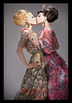 Miss Fame and Violet Chachki by Ali Mahdavi for Candy Magazine