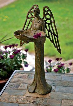 must have Angels in my garden.
