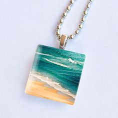 glass tile lake jewelry - Google Search