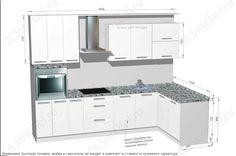 угловая кухня - Google Search
