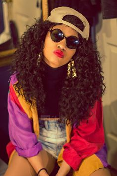 teamblackhurromg natural hair for black women Cute designs on curly hair ponyta, outfit party hip hop, Dope Outfits, 90s Themed Outfits, 90s Theme Party Outfit, Fashion Outfits, 90s Hip Hop Outfits, Throwback Outfits, 80s Fashion Party, House Party Outfit, 80s Party Outfits