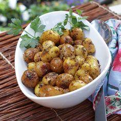Chimichurri roasted potatoes