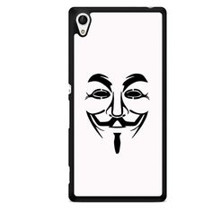 Anonymous Mask TATUM-816 Sony Phonecase Cover For Xperia Z1, Xperia Z2, Xperia Z3, Xperia Z4, Xperia Z5 Vendetta Mask, Anonymous Mask, Mr Robot, Sony, Mac, Cool Stuff, Prints, Mens Tops, Fictional Characters