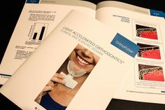 Informational #booklets completed for Orthopulse: Light Accelerated Orthodontics!