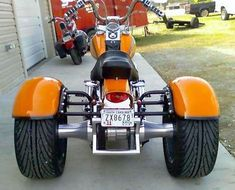 Bad-ass Trikes in Northern VA! Bull Run is proud to be the only Frankenstein Trikes dealer in Northern Virginia. We've built dozens of trikes, but our favorites are the Frankensteins. Motorized Trike, Trike Kits, Harley Davidson Trike, Dyna Wide Glide, Custom Trikes, Futuristic Motorcycle, Custom Cycles, 3rd Wheel, Pinstriping