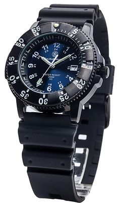 Smith & Wesson Blue Sport Watch