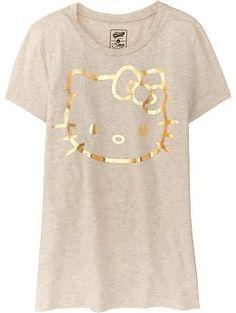 Women's Hello Kitty® Graphic Tees   Old Navy- on my wish list