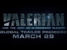 Valerian and the City of a Thousand Planets  | Global Trailer Premiere Announcement - In Theaters July 21, 2017. - Rooted in the classic graphic novel series, Valerian and Laureline-visionary writer/director Luc Besson advances this iconic source material into a contemporary unique and epic science fiction saga. [...]  Cast: Dane DeHaan, Cara Delevingne, Clive Owen, Rihanna, Ethan Hawke, John Goodman, Herbie Hancock, Kristy Wu | STX Entertainment