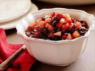 Cinnamon Apple Cranberry Sauce Recipe : Aaron McCargo Jr. : Food Network