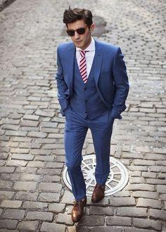 Ślubne trendy 2015 – garnitur dla pana młodego (3)