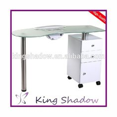 Imc Exhaust Vented Manicure Table W Uv Light Made In Usa