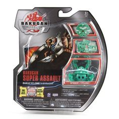 Bakugan Super Assault Bakucyclone Green Gyrazor by Bakugan. $23.75. 1 ability card. 1 metal gate card. 1 bakugan super assault. Bakugan Super Assault Bakucyclone Green Gyrazor