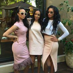 Squad Shit Sodraya Draya Michelle Mercedeh Allen Cassie Celebrity Dope Swag Baddies