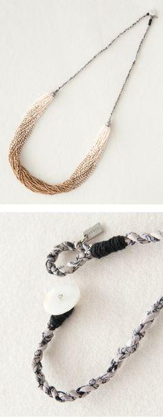 CHAN LUU seed beads necklace