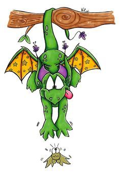 Cute dragon illustration Number 1 Original by kazzycaboodles 20 00 Fantasy Dragon, Dragon Art, Cartoon Drawings, Animal Drawings, Dinosaur Illustration, Dragon Sketch, Cartoon Dragon, Dragon's Lair, Dragon Pictures