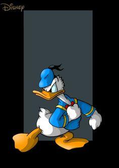 pato do donald por Donald Duck Comic, Donald And Daisy Duck, Classic Disney Characters, Disney Cartoon Characters, Mickey Mouse Art, Mickey Mouse And Friends, Duck Cartoon, Cartoon Pics, Disney Duck