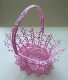 Ružový košíček