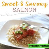 Sweet and Savory Salmon Recipe {Freezer Meal} | Thriving Home